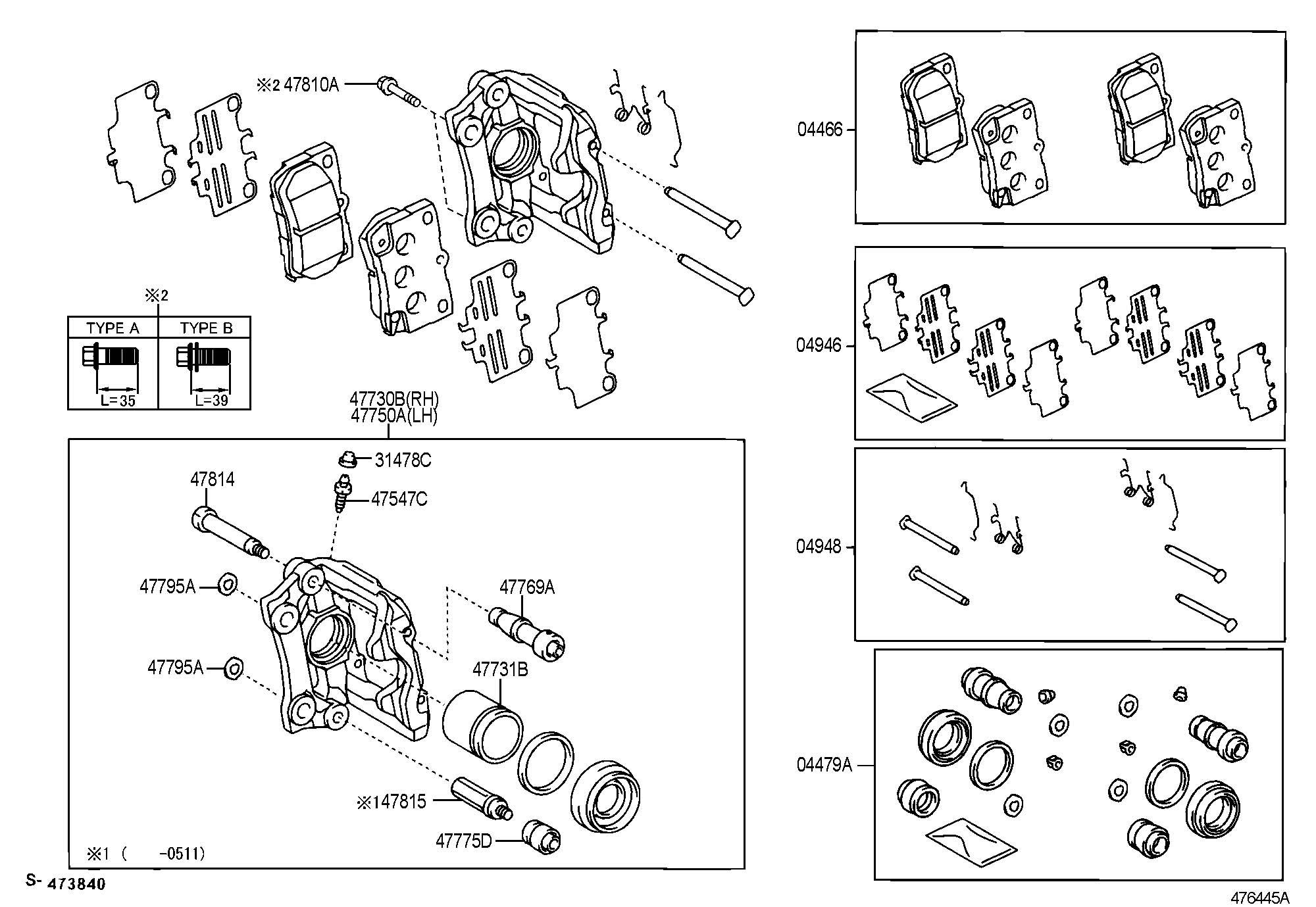 lexus is 250 brake caliper diagram imageresizertool com. Black Bedroom Furniture Sets. Home Design Ideas