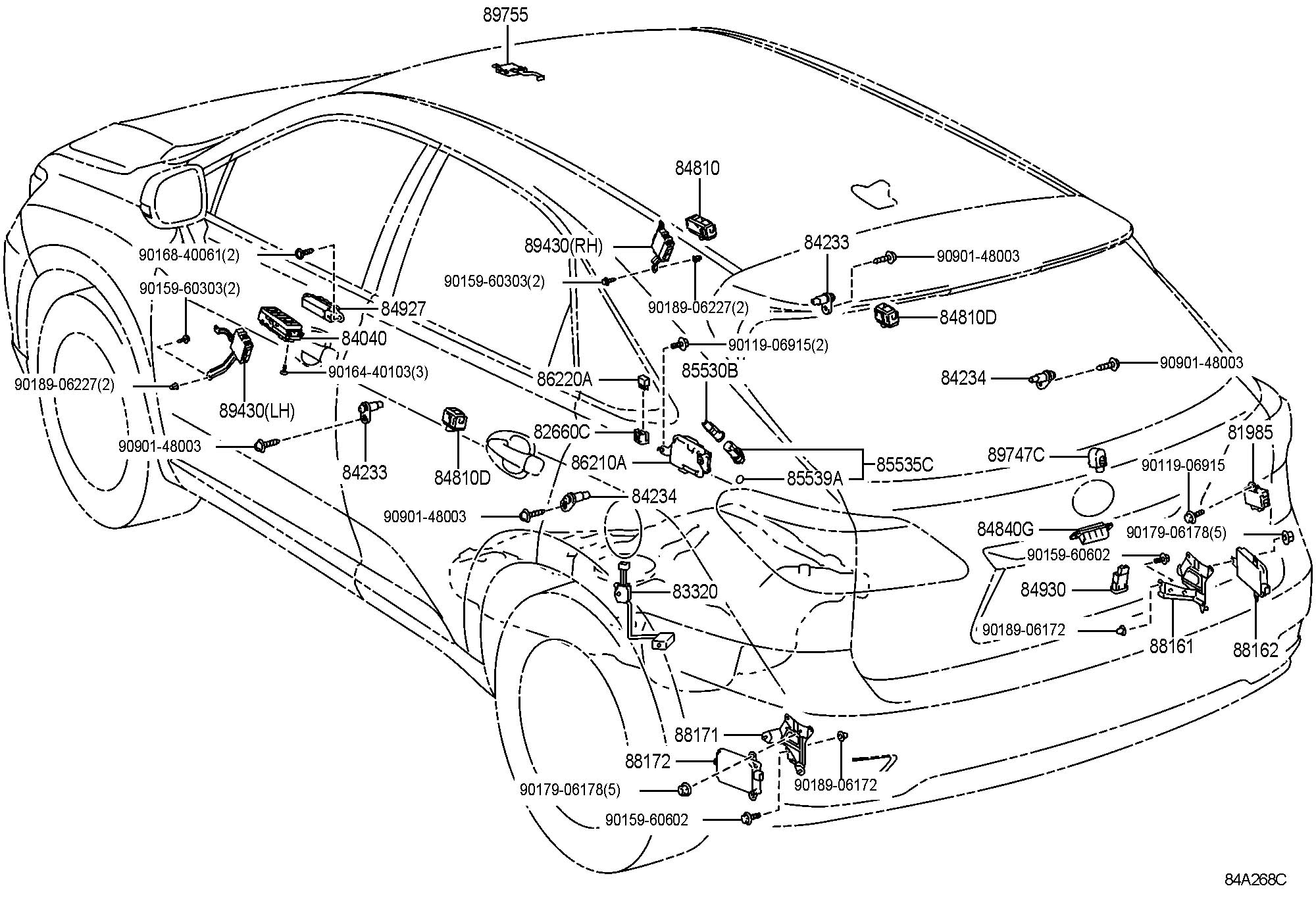 Lexus Gx Wiring Diagram Detailed Schematic Diagrams 2007 Is 250 Rx 350 Parts Basic U2022 Amp 2005