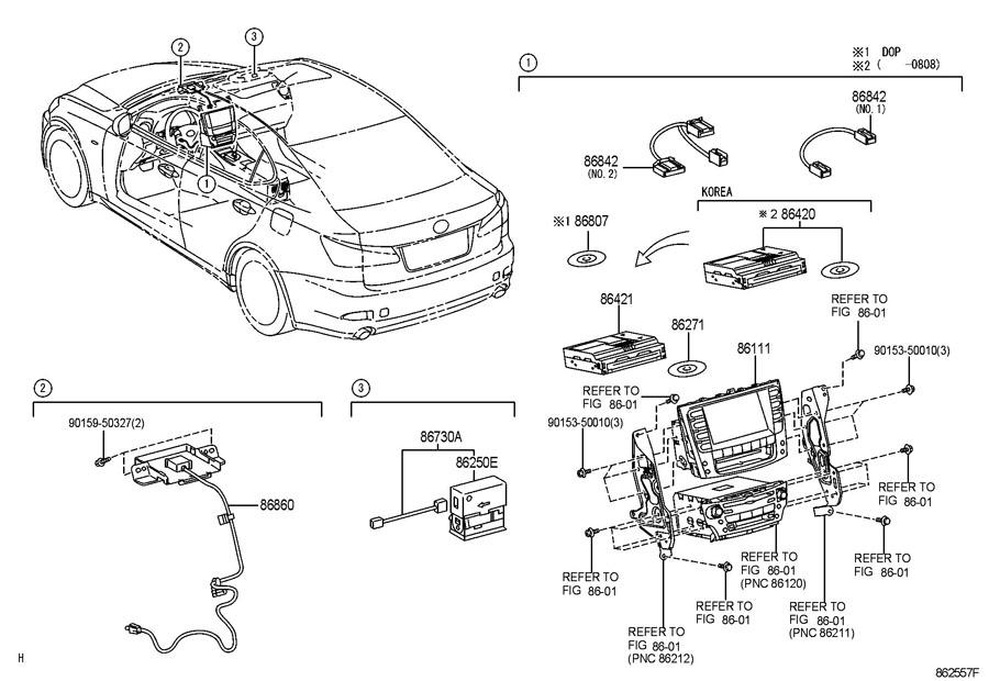 2006 Lexus Is250 Parts Diagram Product Wiring Diagrams