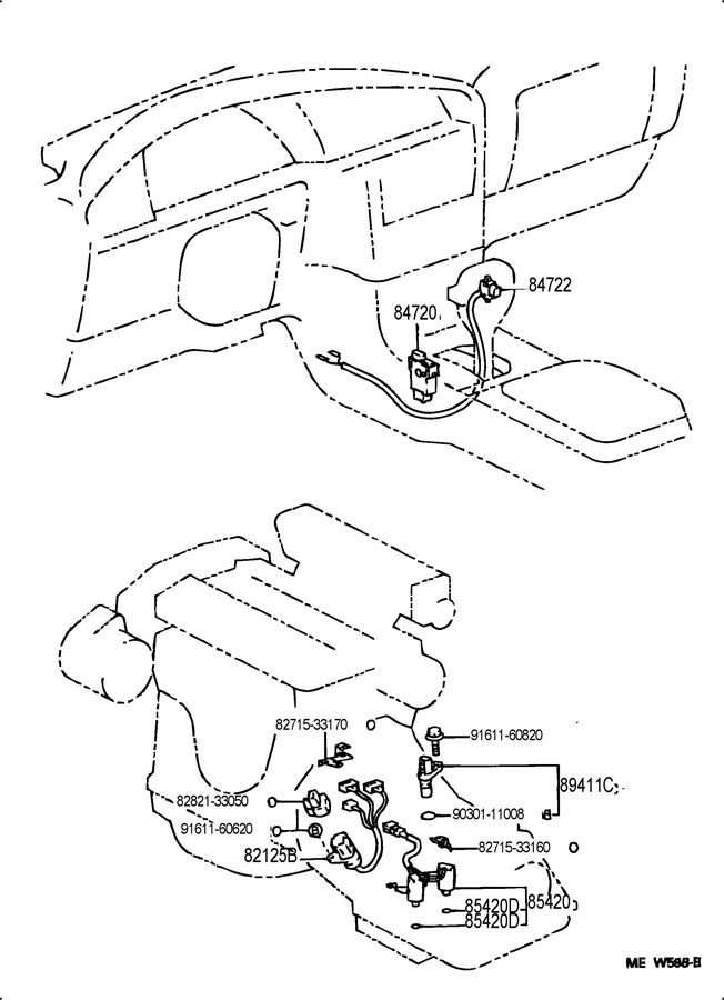 1996 lexus es300 overdrive  u0026 electronic controlled